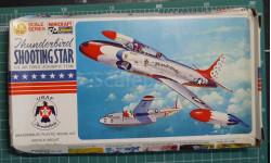 Lockheed T-33 Shooting Star 'Thunderbirds'  1:72 Hasegawa