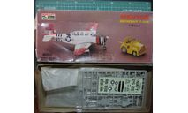 Учебный самолет T-34A Mentor  +  трактор 1:72 Hasegawa, сборные модели авиации, scale72