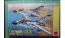 истребитель-бомбардировщик Tornado ECR (2 pcs.) 1:144 Dragon, сборные модели авиации, scale144