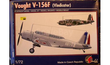 Палубный пикировщик V-156F Vindicator  1:72  Pavla, сборные модели авиации, scale72