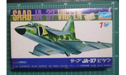 истребитель SAAB JA-37 Viggen  1:144 Crown, сборные модели авиации, scale144