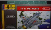 Истребитель SAAB JA-37  Jaktviggen (AJ-37/SF-37/SK-37 Viggen optional) 1:72 Heller (upgraded kit), сборные модели авиации, scale72