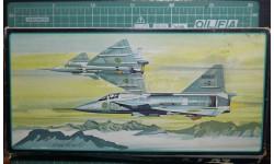 истребитель SAAB AJ-37 Viggen  1:72 AMT/Hasegawa, сборные модели авиации, 1/72