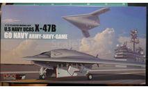 палубный ударный БПЛА X-47B 1:72 Platz, сборные модели авиации, scale72
