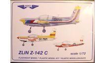 учебный самолет Zlin 142C 1:72 AeroTeam, сборные модели авиации, scale72