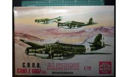 бомбардировщик CANT Z-1007bis Alcione ( monoderiva) 1:72 Supermodel