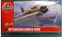 Истребитель Митцубиси A6M2b Zero 1:72 Airfix (NEW), сборные модели авиации, scale72, Mitsubishi