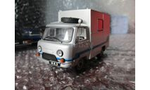 УАЗ-452Д, масштабная модель, Автомобиль на службе, журнал от Deagostini, 1:43, 1/43
