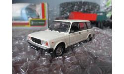 ВАЗ-2104 Жигули, масштабная модель, Автолегенды СССР журнал от DeAgostini, scale43