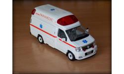 Nissan Elgrand. Ambulance. Скорая помощь