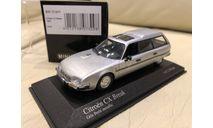 Citroen CX Break 1980 silver 1/43 Minichamps, масштабная модель, Citroën, 1:43