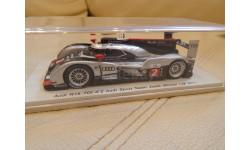 Audi R18 TDI #2 Audi Sport Team Joest Winner LM 2011 (M.Fassler, A.Lotterer, B.Treluyer) Spark43LM11