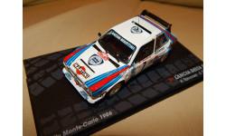 УЦЕНКА Lancia Delta S4 'Martini' #7 Toivonen/Cresto Rally Monte-Carlo 1986 Altaya ATR011, масштабная модель, scale43