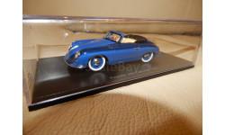 Porsche 356 Cabriolet 1951 (blue) 1/43 Spark S4920, масштабная модель, scale43