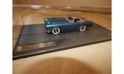 Dodge Storm Zeder Z-250 Bertone 1953 Metallic Blue 1/43 MATRIX MX40405-011