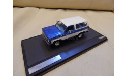 CHEVROLET Blazer K5 4х4 1978 Blue/White 1:43 Matrix, масштабная модель, 1/43