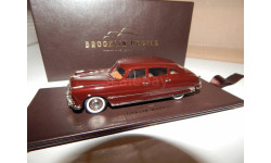 Brooklin Models BRK 225 - 1951 Hudson Hornet 4-Door Sedan Dark Maroon Poly 1/43