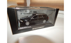 AUDI RS6 AVANT – 2002 – BLACK METALLIC Minichamps 400011712 1/43, масштабная модель, scale43