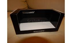 коробка на бокс MINICHAMPS MERCEDES-BENZ 230E 1990 RED, боксы, коробки, стеллажи для моделей