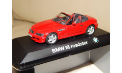 BMW Z3 M Roadster Cabrio red 1997-2002 1/43 Minichamps
