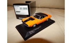 Dodge Challenger R/T 1970 Orange (l.e.1296 pcs) 1/43 Minichamps 400144701
