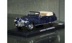 1/43 Lincoln Continental DeAgostini / DelPrado, масштабная модель, 1:43, Del Prado (серия Городские автомобили)