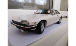 1/18 Jaguar XJS Coupe V12 1986 White Autoart, масштабная модель, 1:18