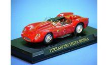 FERRARI 250 TESTA ROSSA, масштабная модель, scale43, Ferrari Collection (Ge Fabbri)