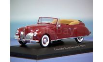 Lincoln Continental 1938, масштабная модель, scale43, Altaya