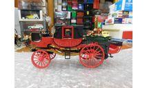 1854 Brumm Old Fire x5 Carro di Bordino, масштабная модель, scale43