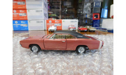 1968 Dodge Charger R/T , 1:43, Franklin Mint, масштабная модель, scale43