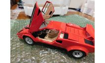 Lamborghini Countach 5000 s, 1985, 1:24, Franklin Mint, масштабная модель, scale24