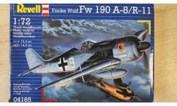 1:72 Focke Wulf FW 190 A-8/R-11, масштабные модели авиации, Revell (модели), 1/72