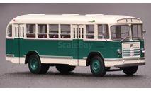 Автобус ЛиАЗ 158В бело-зелёный, масштабная модель, Classicbus, 1:43, 1/43