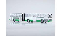 Автобус Ikarus-280.33 бело-зеленый СОВА, масштабная модель, Советский Автобус, 1:43, 1/43