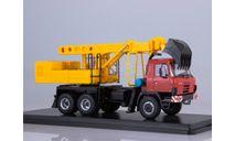 Экскаватор-планировщик UDS-114A (на шасси Tatra-815), масштабная модель, Start Scale Models (SSM), 1:43, 1/43