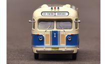 Автобус ЗиС-155 бежево-синий с маршрутом, масштабная модель, Classicbus, 1:43, 1/43