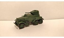 БА-10 выпуск 53, журнальная серия Русские танки (GeFabbri) 1:72