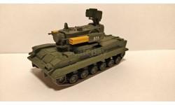 ЗРПК 2С6 Тунгуска выпуск 52, журнальная серия Русские танки (GeFabbri) 1:72