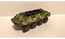 БТР-60 выпуск 27, журнальная серия Русские танки (GeFabbri) 1:72
