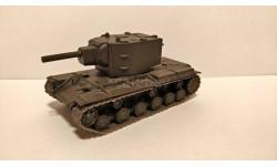 КВ-2 выпуск 11, журнальная серия Русские танки (GeFabbri) 1:72, scale0
