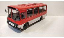 ПАЗ-3205, журнальная серия масштабных моделей, scale43