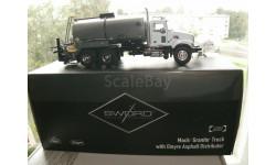 1:50 Mack Granite Etnure автогудронатор, пр-во Sword, масштабная модель, 1/50
