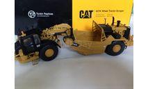 1:50 скрепер CAT 627K, Tonkin, масштабная модель трактора, Tonkin Replicas, Caterpillar, scale50