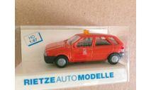 1:87 FIAT TIPO аварийная служба, пр-во Rietze, Германия, масштабная модель, scale87