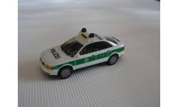 1:87  Audi A4 полиция, Herpa, масштабная модель, 1/87