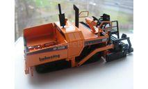 1/50 Асфальтоукладчик Caterpillar AP-1055B , пр-во NZG, Германия, масштабная модель трактора, scale50