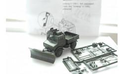 1:87 Unimog U1300L - бронированный военный с отвалом, Roco, масштабная модель, 1/87, Steyr