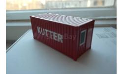 1:50 - Контейне-бытовка 20-футовая Kutter, NZG