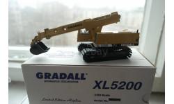 1:50 - GRADALL XL5200 Экскаватор-планировщик